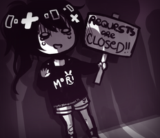 REQS ARE CLOSED! by MoriyamaHearts