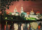 Novodevichy Convent in Moscow by TinaGrey