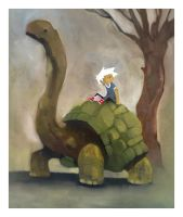 Giant Tortoise by Duffzilla
