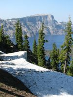 Crater Lake 4 by silent-scenes