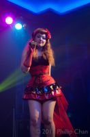 Lamia Cross: Backup Vocalist by AkraruPhotography