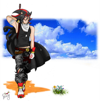 .::Personification::. Shadow the Hedgehog by Emy-san