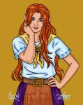 Ocarina of Time - Malon by bratchny
