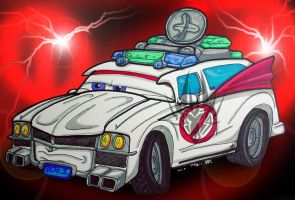 CARS....Ecto One by TaiOMega