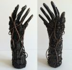 techno hand by richardsymonsart