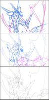 OR Weltall process by clarityblue