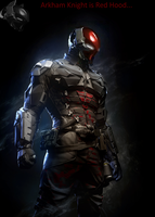 Arkham Knight is Red Hood by HonorAmongScars