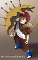 Gaara Sand barrier by tazky