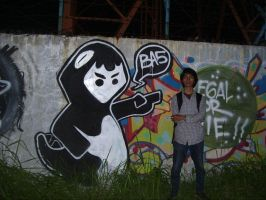 the ragon on wall bogor by bebelikeart