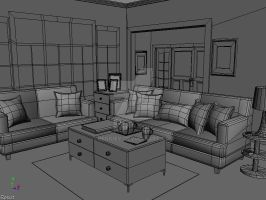 Living Room by reggiey