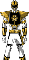 PR Animated, White Ranger by STEhq