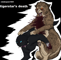 Tigerstar's Death old by skytailskitty