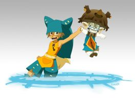 Wakfu Adamai Yugo by Less-L