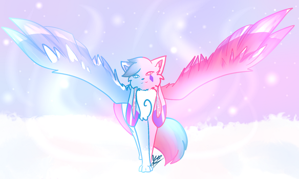 [G] Sparkling sky by winged-scream