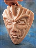 Stone Spirit talc mask view3 by daleafraser