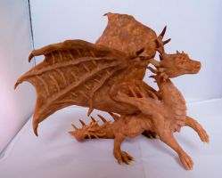 Dragon Sculpt by LittleDragonDesigns