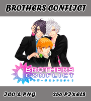 Brothers Conflict v03 Icon Myk by Myk-2103