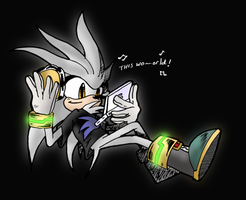 Silver The hedgehog by SHADOWPRIME