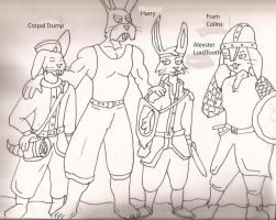 The Hare boys by Woaddragon