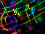 The Spontaneous Colours of Music by TharukaDul