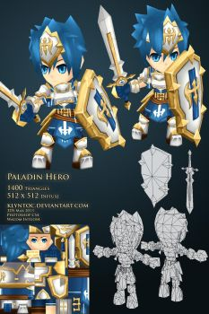 Paladin Hero by klyntoc