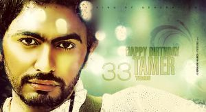 33 Years Tamer Hosny No.1 by adriano-designs