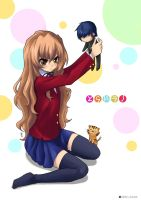 Taiga is not happy by linlilian