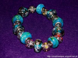 Pandora style bracelet By Shadowisper by Shadowisper