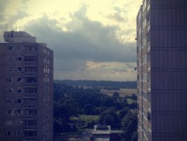 vintage day time flat view by LETSOC
