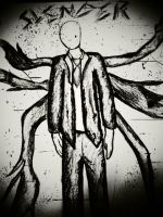 Hello, Mr. Slendy by Drained-in1dream