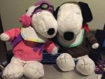 Snoopy and Fifi  by angelicoreXX