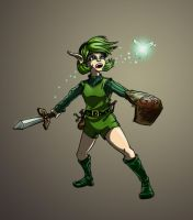 Saria by cheddarpaladin