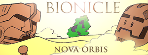 Bionicle- Nova Orbis- Cover by NickinAmerica