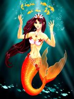 CE: Mermaid Club Mascot by Smurfbreeder