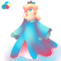 Day 17- Rosalina by Twin-Cats