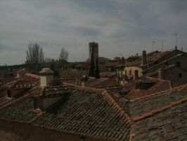 Roofs of Spain by curi222