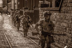 American Troopers by Grunvald