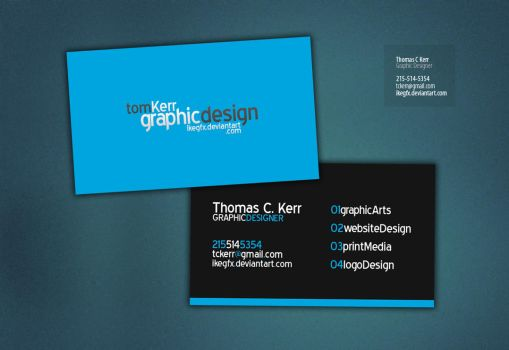 Business Card by IkeGFX