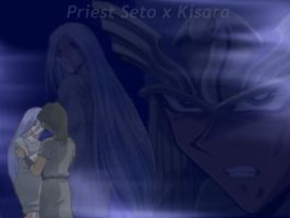 P.Seto and Kisara wallpaper by Kisara4Kaiba