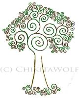 .:Fractal Tree:. by ChikitaWolf