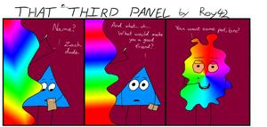 That Third Panel - More Friends #18 by Roy4242