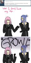 Marluxia and Saix by Kozekito
