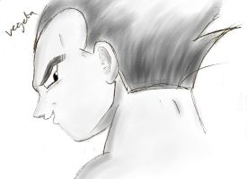Vegeta the prince by lemonmarshmallow