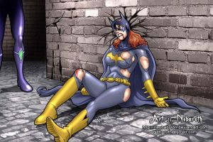 BatGirl defeated by NeoBabylon