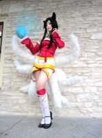 Ahri by LuciaItaliana