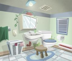 Bathroom by DanSchoening
