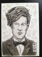 Dr Who Sketch Card by Dave-Acosta