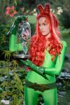 Poison Ivy and her mutant creature by Bewitchedrune