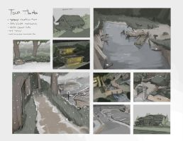 Main Town - Environment Thumbs by CatCouch