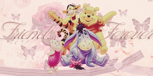 Winnie's Friends by Dyn by SpaceDynArtwork